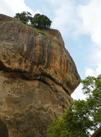 The lions rock  Sigiriya  an ancient rock fortress in Sri Lanka Stock Photo - 17988574