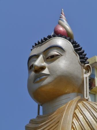 A huge Buddha at wewurukannala Vihara temple in Sri Lanka Stock Photo - 18229858
