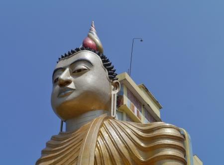 A huge Buddha at wewurukannala Vihara temple in Sri Lanka Stock Photo - 18229900