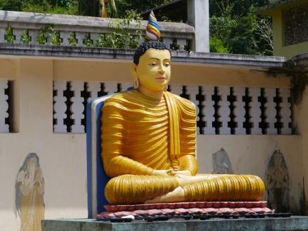 Buddha at wewurukannala Vihara temple in Sri Lanka