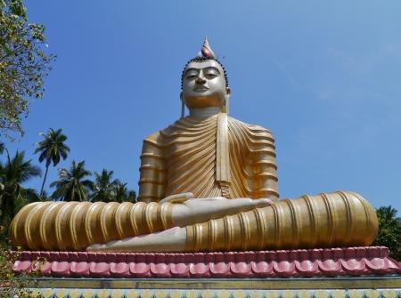 wewurukannala: The huge statue of Buddha at wewurukannala Vihara temple in Sri Lanka