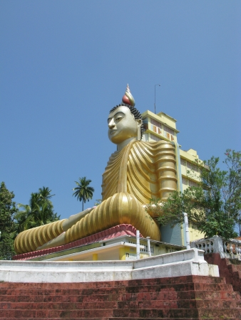 A huge Buddha at wewurukannala Vihara temple in Sri Lanka Stock Photo - 18264042