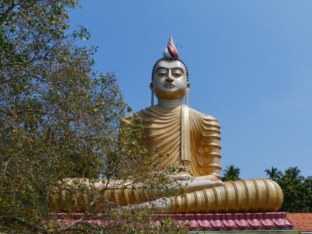 A huge Buddha at wewurukannala Vihara temple in Sri Lanka Stock Photo - 18290973