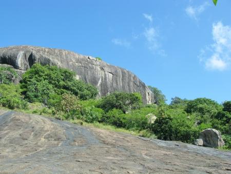 A rocky landscape near Dambula in Sri Lanka Stock Photo - 18626576