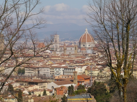 view of the dome in florence in Italy Stock Photo - 18855459