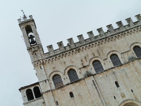 The palace of the consul in Gubbio in Umbria in Italy