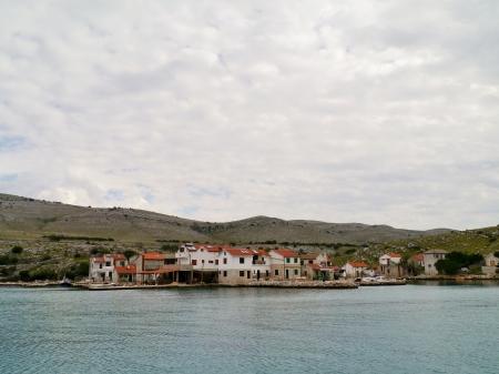 kornat: The village Vrulje in the Kornati national park in Croatia