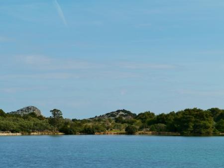 kornati: L'isola Lavsa nel arcipelago di Kornati in Croazia