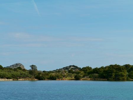 The island Lavsa in the Kornati archipelago in Croatia Stock Photo - 19220653