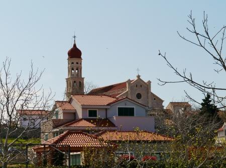 The church of the village Betina at Murter in Croatia Stock Photo - 19220669