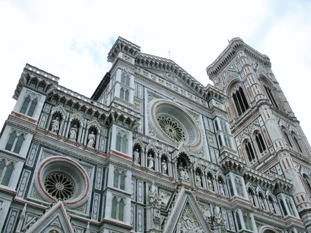 The dome of Florence in Tuscany in Italy Stock Photo - 23108024