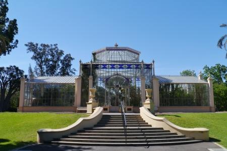adelaide: Schomburgk Pavilion in the Adelaide Botanic Garden in Australia Stock Photo