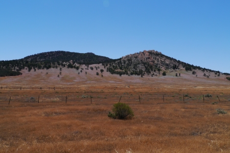 Landscape in the Flinders Ranges