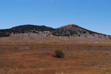 ranges: Paesaggio nei Flinders Ranges Archivio Fotografico