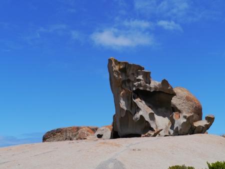 remarkable: Remarkable rocks on Kangaroo island in Australia