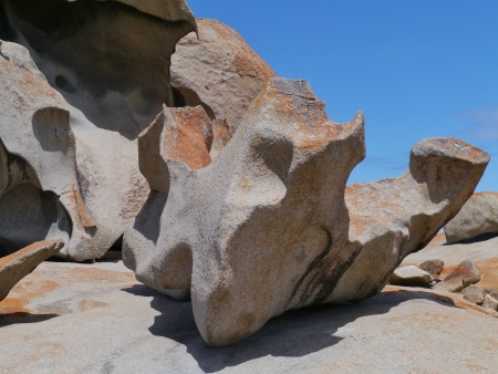 Remarkable rocks on Kangaroo island in Australia photo