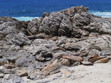 The south coast of Kangaroo island in Australia Stock Photo