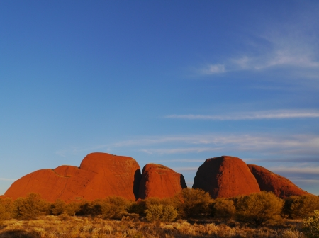 The Olgas in the Northern territory in Australia photo