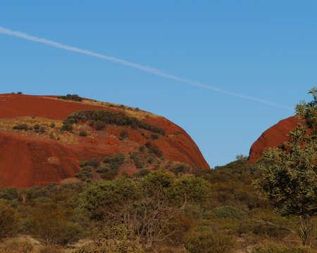 olgas: The Olgas or Kata tjuta in Australia Stock Photo