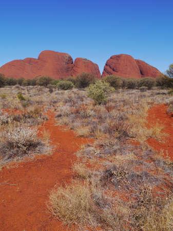 kata: The Olgas or Kata tjuta in Australia Stock Photo