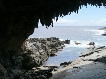 Adirals arch in Flinders case national park on Kangaroo island in Australia photo