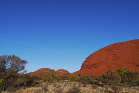 tjuta: The Olgas or Kata tjuta in Australia Stock Photo