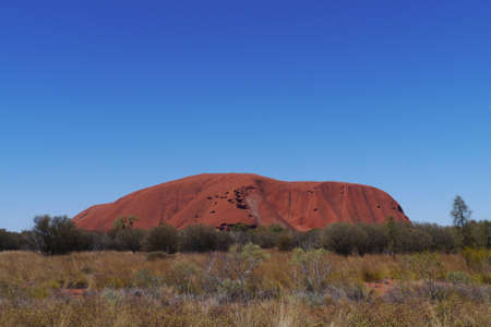 Ayers rock in the Northern territory in Australia photo