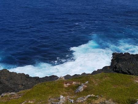 nelson: The rough coast of cape nelson in Victoria in Australia