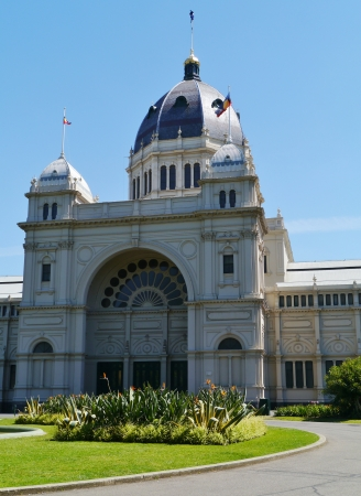 The Royal Exhibition Building in Carlton Gardens in Melbourne in Victoria in Australia  photo