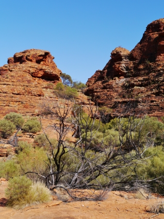 territories: Rocks in Kings canyon in the Northern Territories in Australia