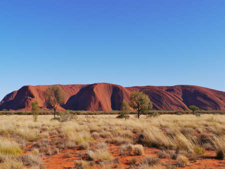 ayers: Ayers rock or Uluru a sandstone formation in the Northern territory in Australia Editorial