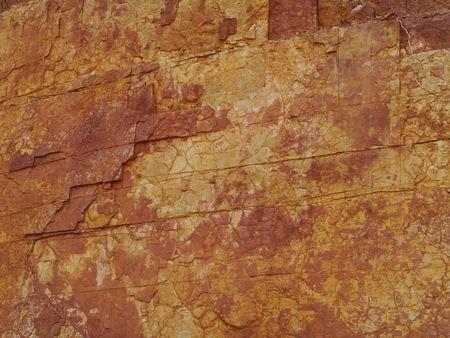 ranges: Ochre Pits in the West MacDonnell Ranges in the northern Territories in Australia