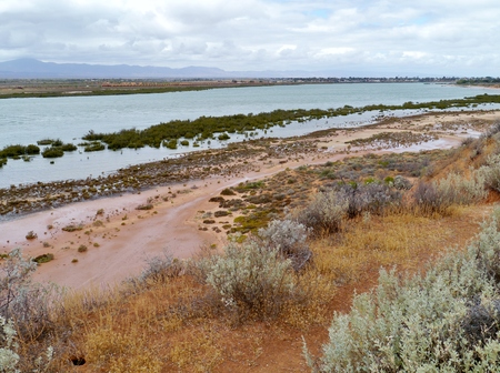 augusta: The natural harbor of Port Augusta in South Australia Stock Photo