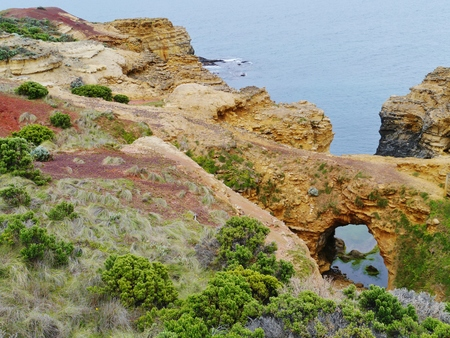 geological formation: The grotto is a sinkhole geological formation in Victoria in  Australia