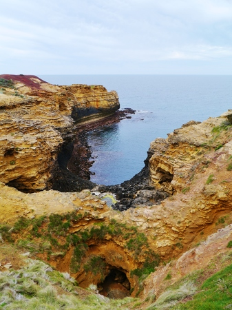 geological formation: The grotto is a sinkhole geological formation found on the Great Ocean Road outside Port Campbell in Victoria in  Australia