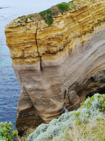 The Loch Ard Gorge is part of Port Campbell National Park Victoria in Australia photo