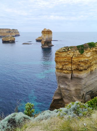 victoria park: The Loch Ard Gorge is part of Port Campbell National Park Victoria in Australia