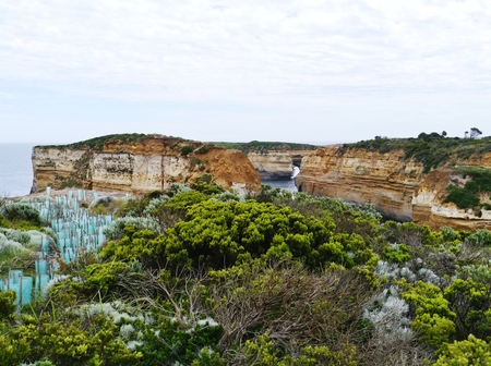 ard: The Loch Ard Gorge is part of Port Campbell National Park Victoria in Australia