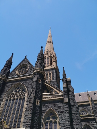 St Patricks Cathedral is the cathedral church of the Roman Catholic Archdiocese of Melbourne in Victoria in Australia photo