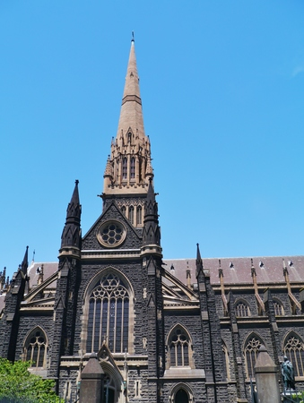 St Patricks Cathedral is the cathedral church of the Roman Catholic Archdiocese of Melbourne in Victoria in Australia Stock Photo - 25909065