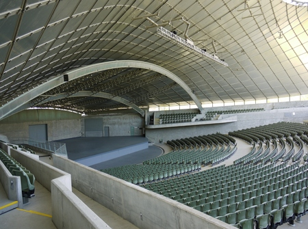 The Sidney Myer music bowl is an open air performance venue in Melbourne in Victoria in Australia