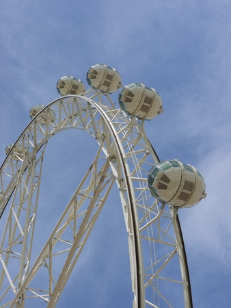 The Melbournestar observation wheel in Melbourne in Victoria in Australia  photo