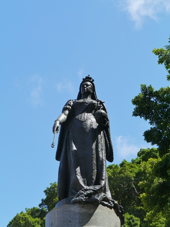 new south wales: Queen Victoria on queens square in Sydney in New South Wales in Australia