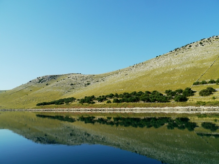 kornat: The statival bay of the  island Kornat in Croatia
