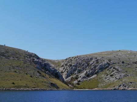 kornat: The island Kornat in the Kornati national park in Croatia