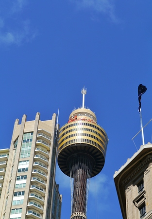 centrepoint tower: he sydney tower eye in Australia