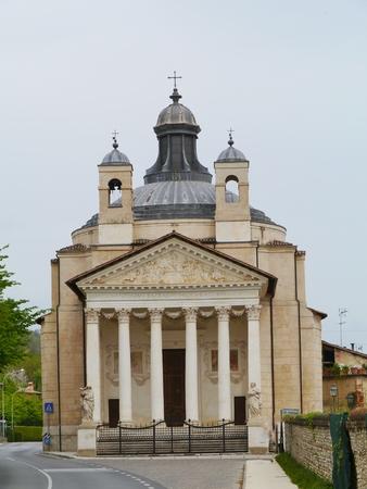 barbaro: The church Tempietto Barbaro at Maser in the Veneto region of northern Italy