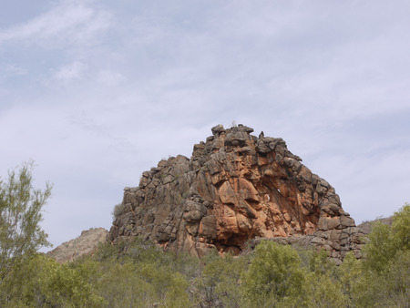 ranges: Corroboree Rock in the East McDonnell ranges in the Northern Territory in Australia