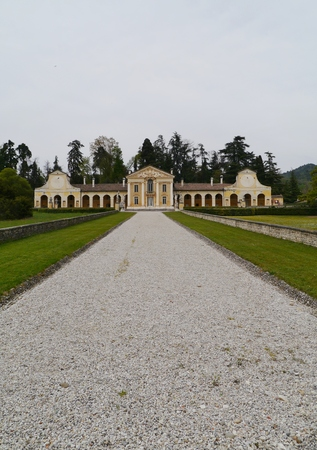 barbaro: Villa Barbaro also known as the Villa di Maser is a large villa at Maser in the Veneto region of northern Italy