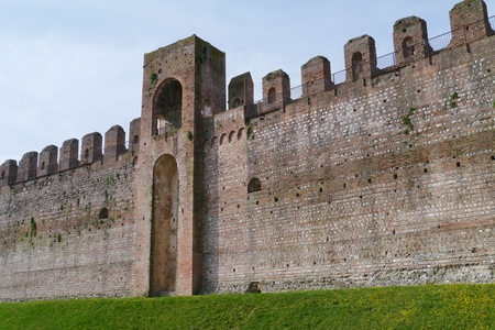 walled: Cittadella is a medieval walled city in the province of Padua in northern Italy